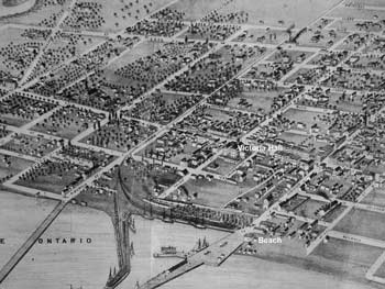 Cobourg Map  c 1860