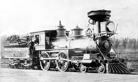 Locomotive - ca 1870